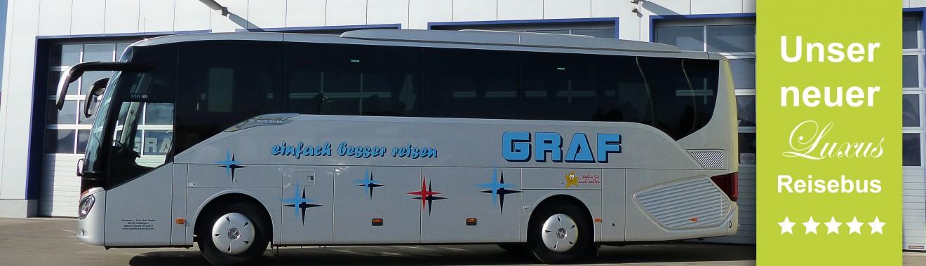 Banner neuer Bus